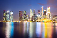 Singapore Downtown Stock Photos