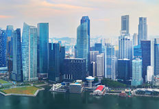 Singapore Downtown Core architecture Royalty Free Stock Photography