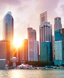 Singapore Downtown Core Stock Image