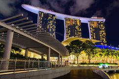 Singapore downtown Stock Images