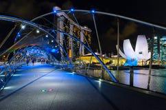 Singapore downtown Royalty Free Stock Photos