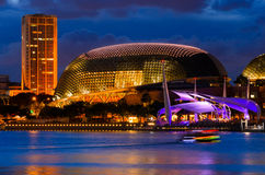 Singapore downtown Stock Photography