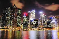 Singapore downtown Royalty Free Stock Photography