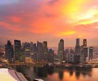 Singapore Downtown skyline Royalty Free Stock Photos