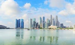 Singapore downtown Stock Photos