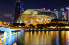 Singapore downtown Royalty Free Stock Images