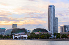 Singapore downtown Stock Image