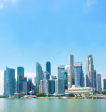 Singapore Downtown view Stock Images