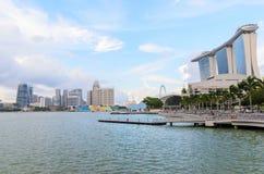Singapore downtown Stock Photo