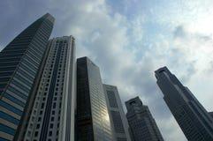 singapore drapacze chmur Obrazy Royalty Free