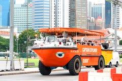 Singapore : Duck Tour Amphibious Ride Stock Photos