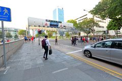 Singapore :  Electronic Road Pricing Royalty Free Stock Photography