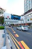 Singapore: Elektronische Weg Tarifering stock fotografie