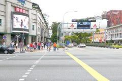 Singapore: Elektronische Weg Tarifering stock afbeeldingen