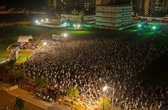 Singapore elezione straordinaria gennaio 2013 Fotografia Stock Libera da Diritti