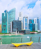 Singapore embankment Stock Photos