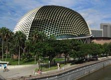 Singapore Esplanade Royaltyfria Foton