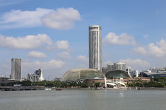 Singapore Esplanade Royalty Free Stock Photo