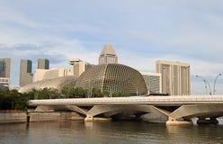 Singapore esplanade Royalty Free Stock Images