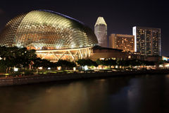 Singapore Esplanade Theater. Situated at the Esplanade Park Royalty Free Stock Photos