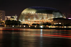 Singapore Esplanade Theater. Situated at the Esplanade Park Stock Photos