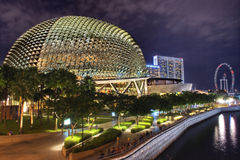 Singapore Esplanade Theater Stock Images