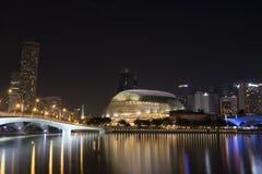 Singapore Esplanade Theatre Stock Photography