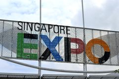 Singapore Expo Stock Image
