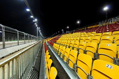 Singapore F1 grand stand Stock Photography