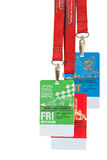 Singapore F1 Night Race passes Sept 2011 Stock Photos