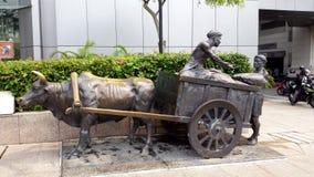 Singapore Famous Sculptures Landmark Royalty Free Stock Images
