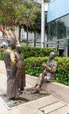 Singapore Famous Sculptures Landmark Stock Photo