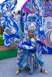 2018 Chingay parade. SINGAPORE - FEB 24 : Participant in the Chingay parade in Singapore on February 24 2018. The Chingay is an annual street parade and it is Royalty Free Stock Photography