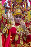 2018 Chingay parade. SINGAPORE - FEB 24 : Participant in the Chingay parade in Singapore on February 24 2018. The Chingay is an annual street parade and it is Stock Photography