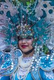 2018 Chingay parade. SINGAPORE - FEB 24 : Participant in the Chingay parade in Singapore on February 24 2018. The Chingay is an annual street parade and it is Stock Photos