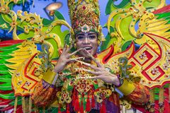 2018 Chingay parade. SINGAPORE - FEB 24 : Participant in the Chingay parade in Singapore on February 24 2018. The Chingay is an annual street parade and it is Stock Image