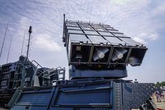 SPYDER Surface-to-Air Missile System stock image