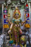 Sri Veeramakaliamman temple. SINGAPORE - FEB 24 : Statue in Sri Veeramakaliamman temple in Little India, Singapore on February 24 2018 It is one of the oldest Stock Images