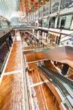 Singapore. Winkelcentrum bij het Zand Onderzoek van de Baai van de Jachthaven Stock Afbeeldingen