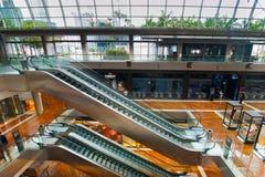 Singapore. Winkelcentrum bij het Zand Onderzoek van de Baai van de Jachthaven Royalty-vrije Stock Foto