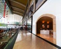 Singapore. Winkelcentrum bij het Zand Onderzoek van de Baai van de Jachthaven Royalty-vrije Stock Foto's