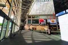 Singapore. Winkelcentrum bij de Toevlucht van het Zand van de Baai van de Jachthaven Stock Afbeelding