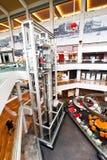 Singapore. Shopping center at Marina Bay Sands Res Stock Photos