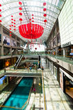 Singapore. Shopping center at Marina Bay Sands Res Stock Photos