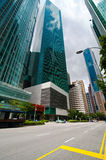 Urban landscape of Singapore Royalty Free Stock Photography