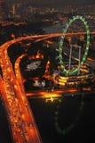 Singapore Ferries Wheel Stock Photo