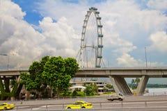 Singapore Ferris Wheel Fotografering för Bildbyråer