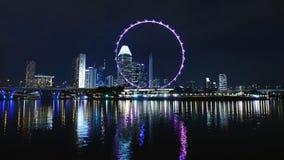 Singapore, Ferris Wheel, Big Wheel Stock Photos