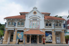 Singapore filatelistiskt museum royaltyfri bild