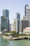 Singapore financial district Stock Photos